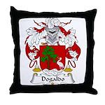 Dogaldo Family Crest Throw Pillow