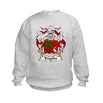 Dogaldo Family Crest Kids Sweatshirt