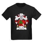 Dogaldo Family Crest Kids Dark T-Shirt