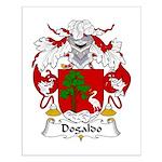 Dogaldo Family Crest Small Poster
