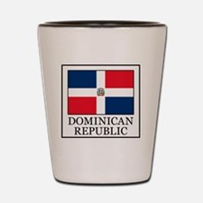 Dominican Republic Shot Glass