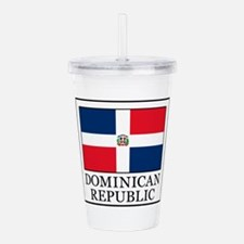 Dominican Republic Acrylic Double-wall Tumbler