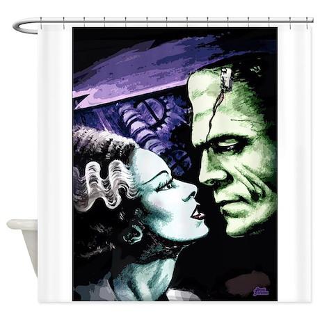 Bride Of Frankenstein Shower Curtain And