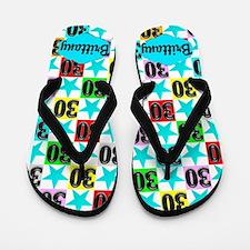 30th Super Star Flip Flops