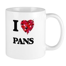 I Love Pans Mugs