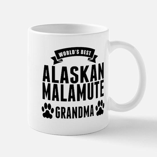 Worlds Best Alaskan Malamute Grandma Mugs