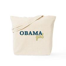 Barack Obama Girl Tote Bag