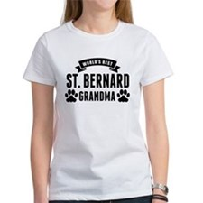 Worlds Best St. Bernard Grandma T-Shirt