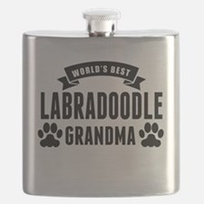 Worlds Best Labradoodle Grandma Flask