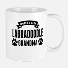 Worlds Best Labradoodle Grandma Mugs