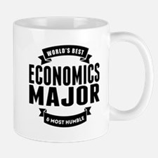 Worlds Best And Most Humble Economics Major Mugs