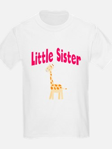 Little Sister Giraffe T-Shirt