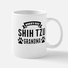 Worlds Best Shih Tzu Grandma Mugs