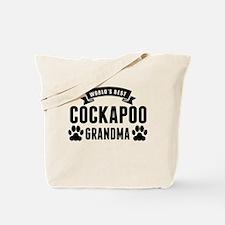 Worlds Best Cockapoo Grandma Tote Bag
