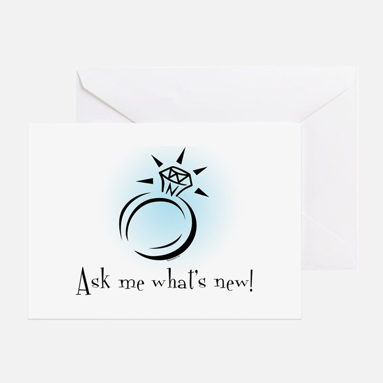 What's New? Greeting Card
