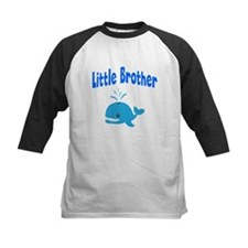 Little Brother Whale Baseball Jersey