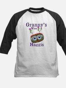 Personalised Wee Scottish Haggis Baseball Jersey