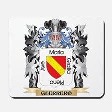 Guerrero Coat of Arms - Family Crest Mousepad