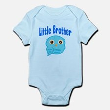 Little Brother Blue Owl Body Suit