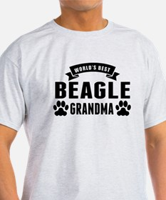 Worlds Best Beagle Grandma T-Shirt