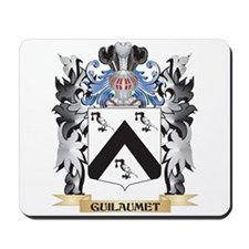 Guilaumet Coat of Arms - Family Crest Mousepad