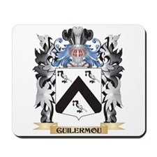 Guilermou Coat of Arms - Family Crest Mousepad
