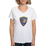 Sausalito Police Women's V-Neck T-Shirt
