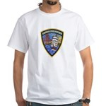 Sausalito Police White T-Shirt
