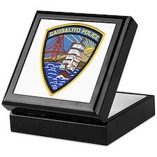 Sausalito Police Keepsake Box
