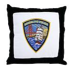 Sausalito Police Throw Pillow