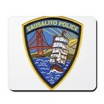 Sausalito Police Mousepad