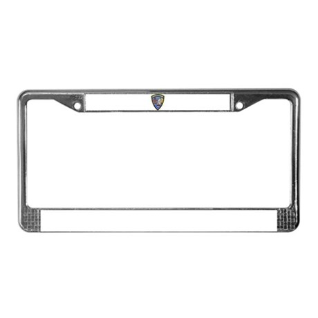 Sausalito Police License Plate Frame