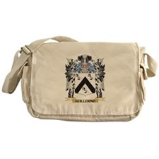 Guillermo Coat of Arms - Family Cres Messenger Bag