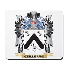 Guillermo Coat of Arms - Family Crest Mousepad