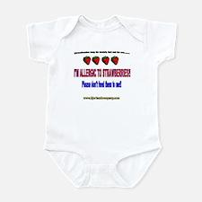 Strawberry Allergy Infant Bodysuit