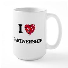 I Love Partnership Mugs