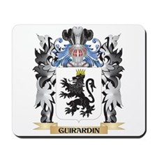 Guirardin Coat of Arms - Family Crest Mousepad