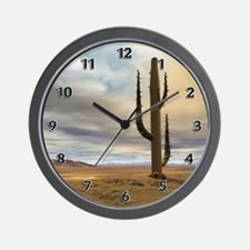 Early Desert Wall Clock
