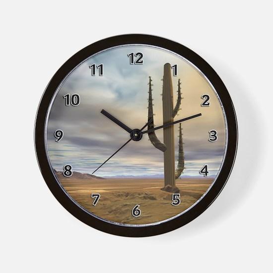 Early Desert Wall Clock