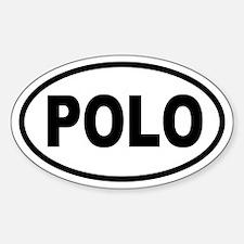 Basic Polo Oval Decal