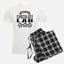 Worlds Best Chocolate Lab Dad Pajamas