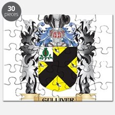 Gulliver Coat of Arms - Family Crest Puzzle