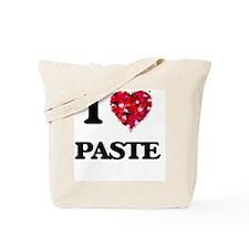 I Love Paste Tote Bag