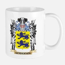 Gunderson Coat of Arms - Family Crest Mugs