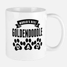 Worlds Best Goldendoodle Dad Mugs