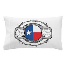 Hard Core Texas Volleyball Pillow Case