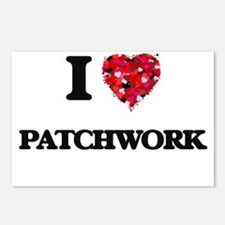 I Love Patchwork Postcards (Package of 8)