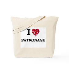 I Love Patronage Tote Bag