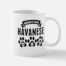 Worlds Best Havanese Dad Mugs