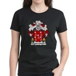 Cogominho Family Crest  Women's Dark T-Shirt